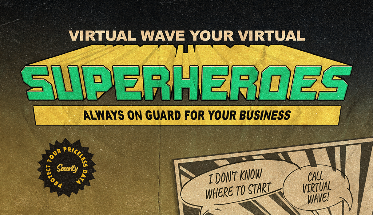 Virtual Wave Superheroes